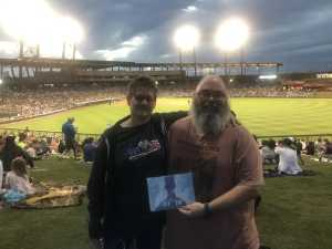 Trevor attended Colorado Rockies vs. Kansas City Royals - MLB Spring Training - Lawn Seating on Mar 20th 2019 via VetTix