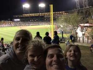 shannon attended Colorado Rockies vs. Kansas City Royals - MLB Spring Training - Lawn Seating on Mar 20th 2019 via VetTix