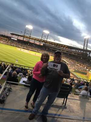Ronald attended Colorado Rockies vs. Kansas City Royals - MLB Spring Training - Lawn Seating on Mar 20th 2019 via VetTix