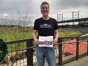 Scott attended Colorado Rockies vs. Kansas City Royals - MLB Spring Training - Lawn Seating on Mar 20th 2019 via VetTix