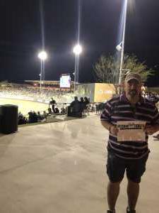 Michael attended Colorado Rockies vs. Kansas City Royals - MLB Spring Training - Lawn Seating on Mar 20th 2019 via VetTix