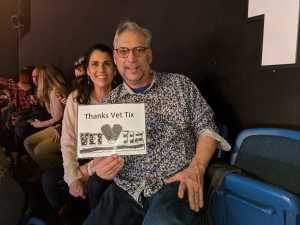 John attended Blake Shelton: Friends & Heroes Tour on Mar 21st 2019 via VetTix