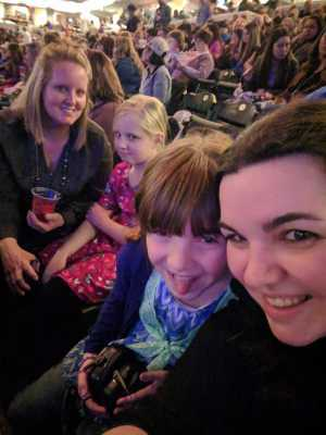 Chelsea attended Kelly Clarkson: Meaning of Life Tour - Pop on Mar 22nd 2019 via VetTix