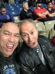 Vincent attended San Antonio Commanders vs. Arizona Hotshots - AAF on Mar 31st 2019 via VetTix