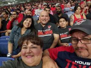 Jose attended San Antonio Commanders vs. Arizona Hotshots - AAF on Mar 31st 2019 via VetTix