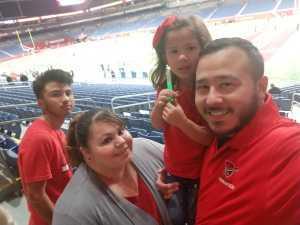 John attended San Antonio Commanders vs. Arizona Hotshots - AAF on Mar 31st 2019 via VetTix