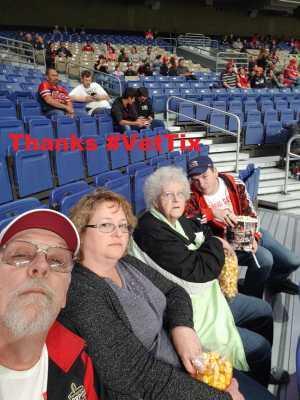 Loren attended San Antonio Commanders vs. Arizona Hotshots - AAF on Mar 31st 2019 via VetTix