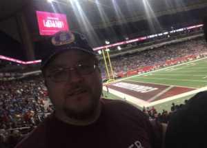 Carlos attended San Antonio Commanders vs. Arizona Hotshots - AAF on Mar 31st 2019 via VetTix