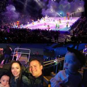David attended Disney on Ice: Mickey's Search Party on Apr 4th 2019 via VetTix