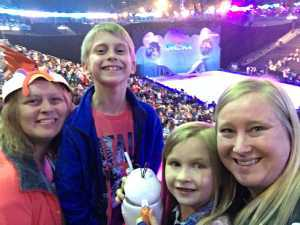 amy attended Disney on Ice: Mickey's Search Party on Apr 4th 2019 via VetTix