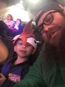 Andrew  attended Disney on Ice: Mickey's Search Party on Apr 4th 2019 via VetTix
