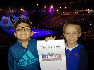 Santos attended Disney on Ice: Mickey's Search Party on Apr 4th 2019 via VetTix