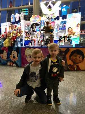 Cameron attended Disney on Ice: Mickey's Search Party on Apr 4th 2019 via VetTix