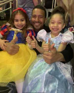 Napoleon  attended Disney on Ice: Mickey's Search Party on Apr 4th 2019 via VetTix