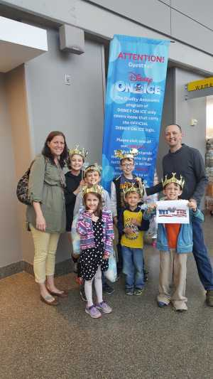 Cale attended Disney on Ice: Mickey's Search Party on Apr 4th 2019 via VetTix