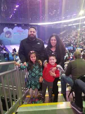 William attended Disney on Ice: Mickey's Search Party on Apr 4th 2019 via VetTix