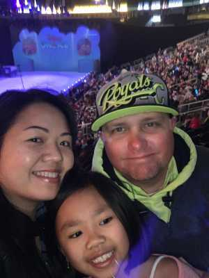 Eric attended Disney on Ice: Mickey's Search Party on Apr 4th 2019 via VetTix