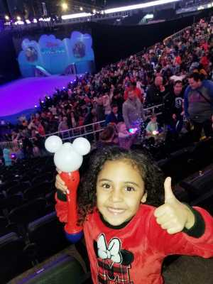 Mario attended Disney on Ice: Mickey's Search Party on Apr 4th 2019 via VetTix