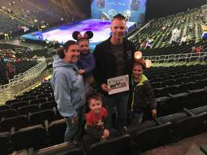 Nathan attended Disney on Ice: Mickey's Search Party on Apr 4th 2019 via VetTix