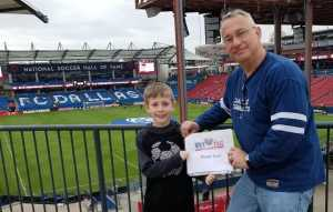 Asa Pearson attended FC Dallas vs Colorado Rapids - MLS on Mar 23rd 2019 via VetTix