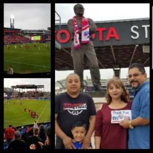Juan attended FC Dallas vs Colorado Rapids - MLS on Mar 23rd 2019 via VetTix