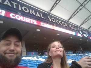 william and krista morris attended FC Dallas vs Colorado Rapids - MLS on Mar 23rd 2019 via VetTix