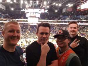 George attended Phoenix Suns vs. Washington Wizards - NBA on Mar 27th 2019 via VetTix