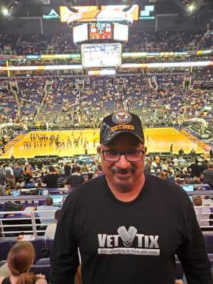 Clifton attended Phoenix Suns vs. Washington Wizards - NBA on Mar 27th 2019 via VetTix
