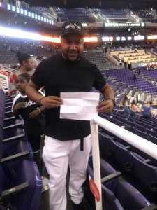 Sean attended Phoenix Suns vs. Washington Wizards - NBA on Mar 27th 2019 via VetTix