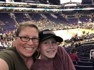 Michelle attended Phoenix Suns vs. Washington Wizards - NBA on Mar 27th 2019 via VetTix