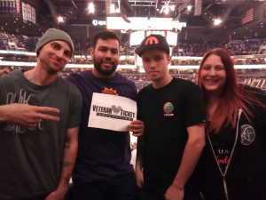 Alvaro attended Phoenix Suns vs. Washington Wizards - NBA on Mar 27th 2019 via VetTix