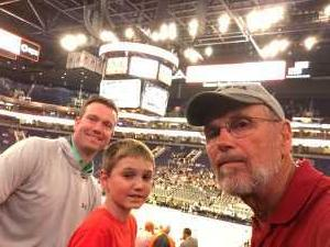 Jeff attended Phoenix Suns vs. Washington Wizards - NBA on Mar 27th 2019 via VetTix
