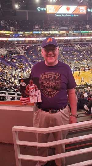 Ernest attended Phoenix Suns vs. Washington Wizards - NBA on Mar 27th 2019 via VetTix
