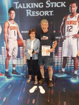 Robert attended Phoenix Suns vs. Washington Wizards - NBA on Mar 27th 2019 via VetTix