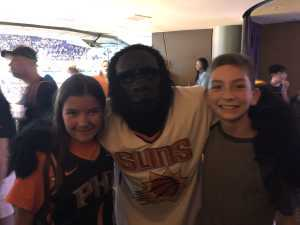 SSG Powell attended Phoenix Suns vs. Washington Wizards - NBA on Mar 27th 2019 via VetTix
