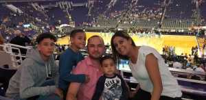 Rene attended Phoenix Suns vs. Washington Wizards - NBA on Mar 27th 2019 via VetTix