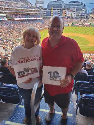 Stephen attended Washington Nationals vs. Philadelphia Phillies - MLB on Jun 19th 2019 via VetTix