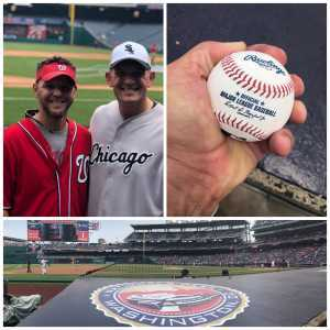 shannon attended Washington Nationals vs. Chicago White Sox - MLB on Jun 5th 2019 via VetTix