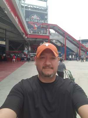 Adrian  attended Washington Nationals vs. Chicago White Sox - MLB on Jun 5th 2019 via VetTix