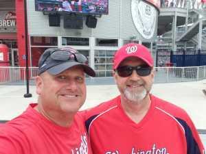 Stephen attended Washington Nationals vs. Chicago White Sox - MLB on Jun 5th 2019 via VetTix