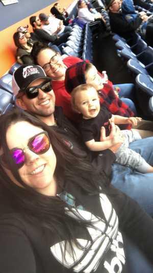 Justin attended Monster Energy Supercross - Futures - Motorsports/racing on Apr 14th 2019 via VetTix
