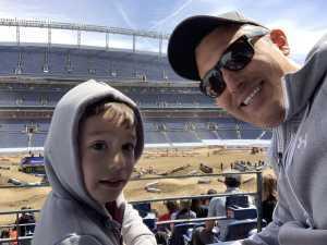 John attended Monster Energy Supercross - Futures - Motorsports/racing on Apr 14th 2019 via VetTix