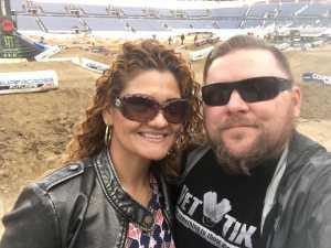 Charles attended Monster Energy Supercross - Futures - Motorsports/racing on Apr 14th 2019 via VetTix