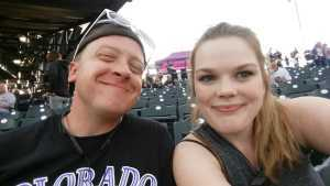 James attended Colorado Rockies vs. Atlanta Braves - MLB on Apr 8th 2019 via VetTix