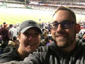 Ian attended Colorado Rockies vs. Atlanta Braves - MLB on Apr 8th 2019 via VetTix