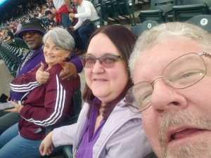 Robert attended Colorado Rockies vs. Atlanta Braves - MLB on Apr 8th 2019 via VetTix