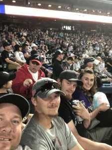 Anthony attended Colorado Rockies vs. Atlanta Braves - MLB on Apr 8th 2019 via VetTix