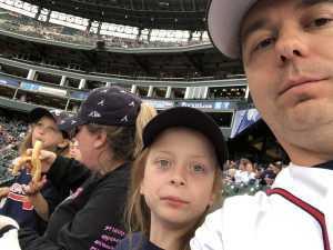 Brandon attended Colorado Rockies vs. Atlanta Braves - MLB on Apr 8th 2019 via VetTix