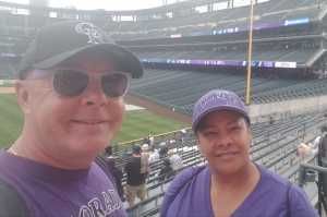 Horace attended Colorado Rockies vs. Atlanta Braves - MLB on Apr 8th 2019 via VetTix
