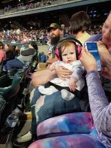 Dustin attended Colorado Rockies vs. Atlanta Braves - MLB on Apr 8th 2019 via VetTix